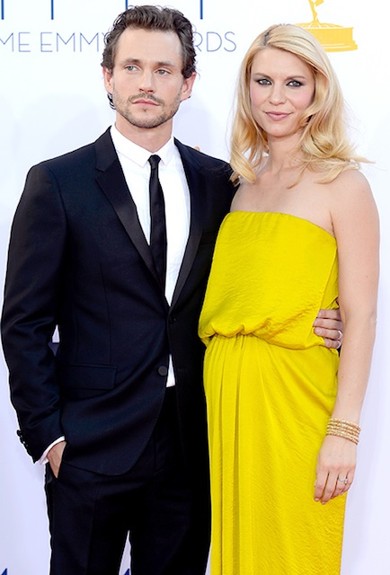 Claire Danes and her husband Hugh Dancy