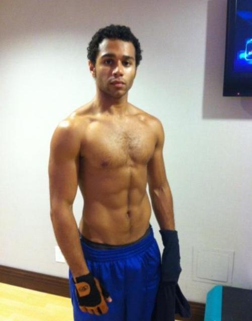 Corbin Bleu shirtless