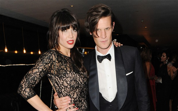 Daisy Lowe and her ex-boyfriend Matt Smith