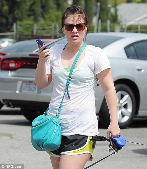 Kelly Clarkson Gym Workout