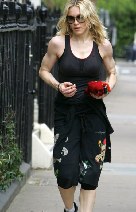 Madonna workout and diet