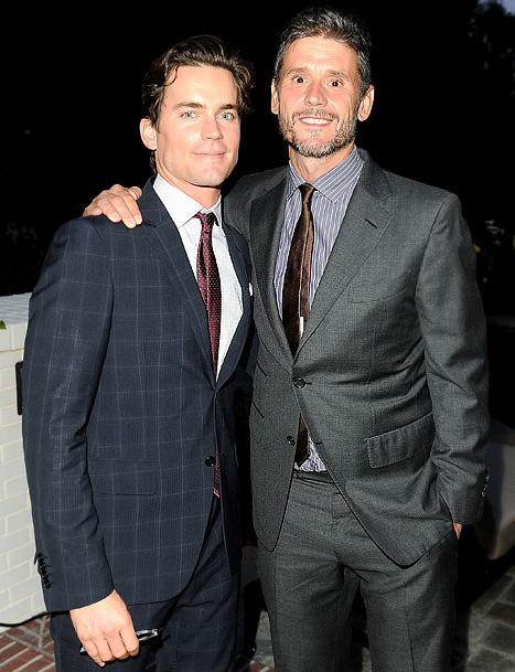 Matt Bomer and partner Simon Halls