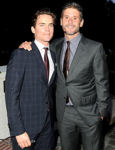 Matt Bomer and partner Simon Halls