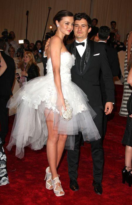 Orlando Bloom and ex-wife Miranda Kerr