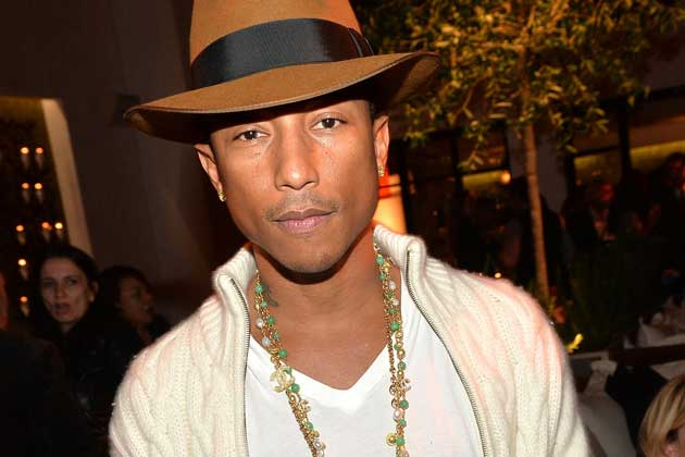 American singer and music producer Pharrell Williams