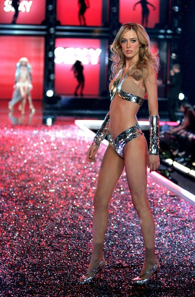 Raquel Zimmermann during Victoria's Secret Fashion Show