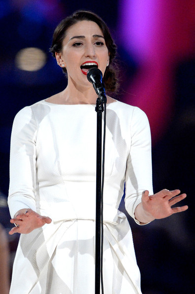 Sara Bareilles performs onstage at The 2014 MusiCares Person Of The Year Gala