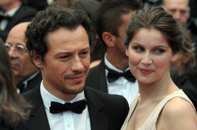 Stefano Accorsi and Laetitia Casta