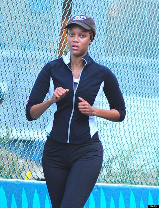 Tyra Banks Running Workout