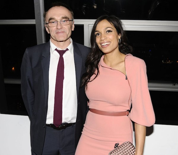 Danny Boyle and Rosario Dawson
