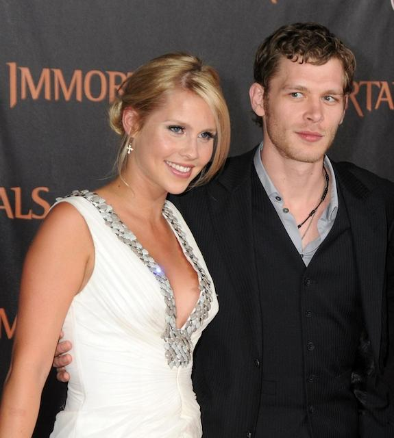 Joseph Morgan and Claire Holt