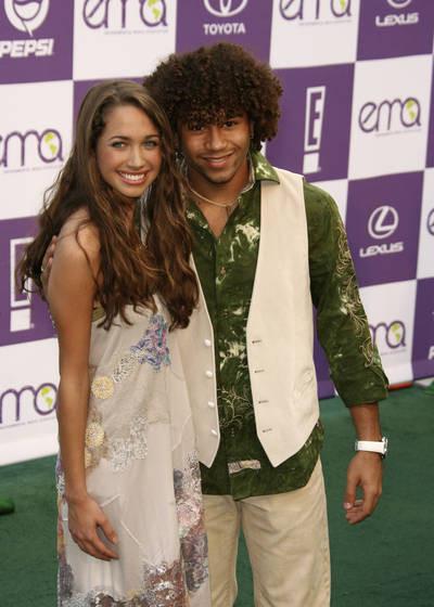 Maiara Walsh and her ex-boyfriend Corbin Bleu