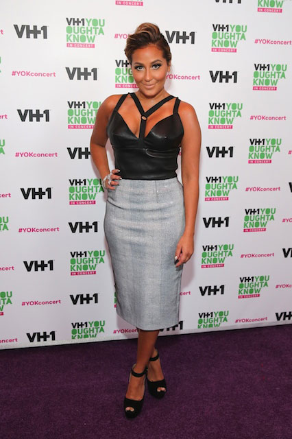 Adrienne Bailon voluptuous look