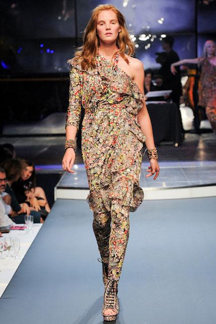 Alexina Graham catwalk