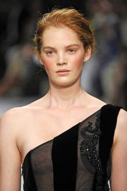 English fashion model, Alexina Graham
