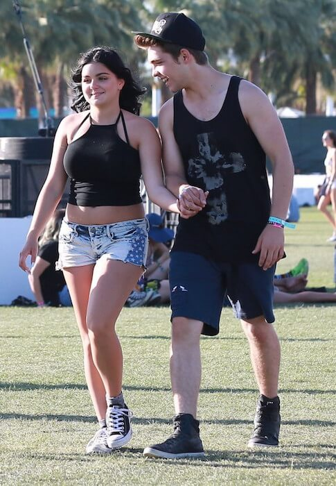 Ariel Winter and Laurent Claude during Coachella Valley Music And Arts Festival In Indio Ca April 2015