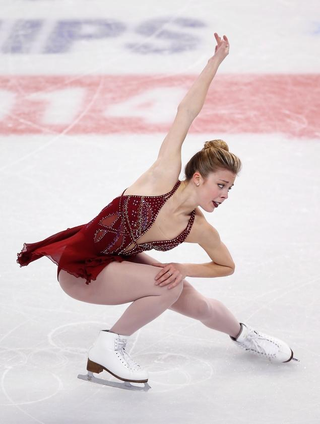 Ashley Wagner in Winter Olympics