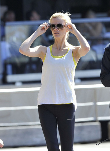 Brooklyn Decker in workout gear