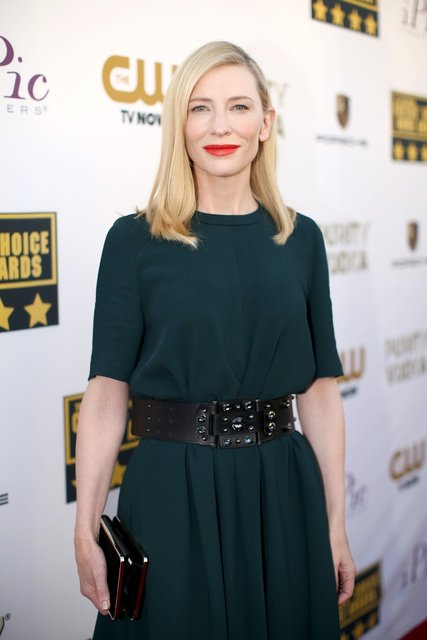 Cate Blanchett during Critics Choice Awards 2014