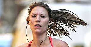 Claire Danes Running Workout