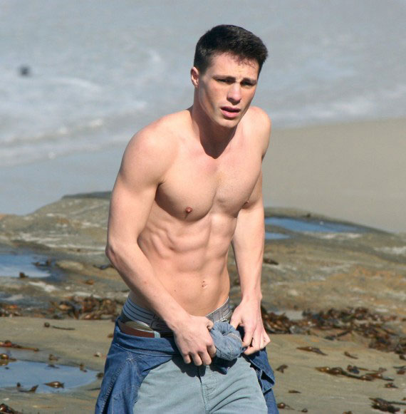 Colton Haynes Workout
