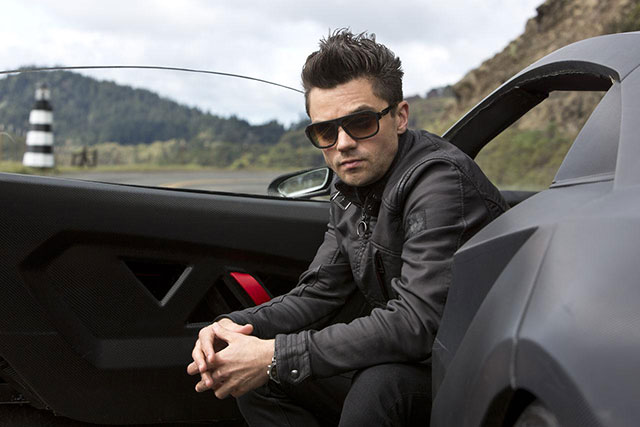 Dominic Cooper in a still from Need for Speed 2014 Movie