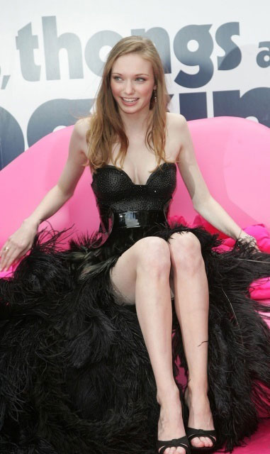 Eleanor Tomlinson long legs