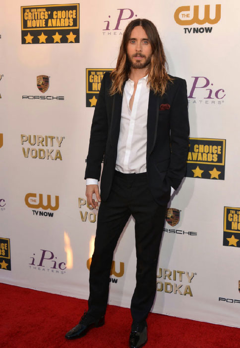 The 46-year old son of father Carl Leto and mother Constance Leto, 177 cm tall Jared Leto in 2018 photo