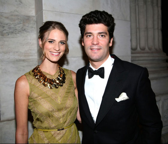 Julie Henderson and Alejandro Santo Domingo