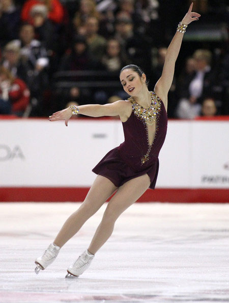 Kaetlyn Osmond during 2014 Canadian Tire National Figure Skating Championships