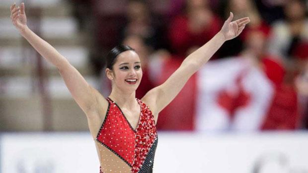 Canadian Figure Skater Kaetlyn Osmond