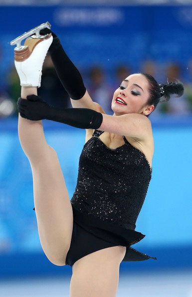 Kaetlyn Osmond stunts