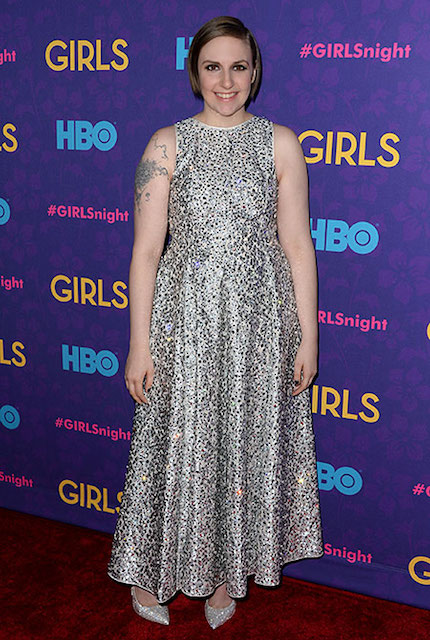 Lena Dunham weight