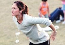 Minka Kelly Workout