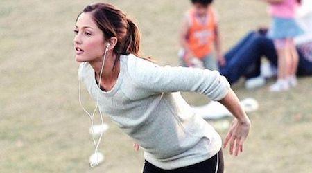 Minka Kelly Workout Routine and Diet Plan