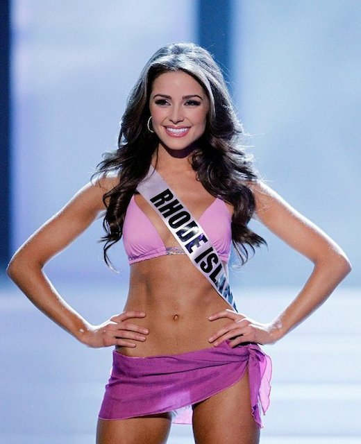 Miss USA -- Not All Topless Photos Are