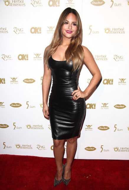 Pia Toscano during Pre-Grammy 2014 Party