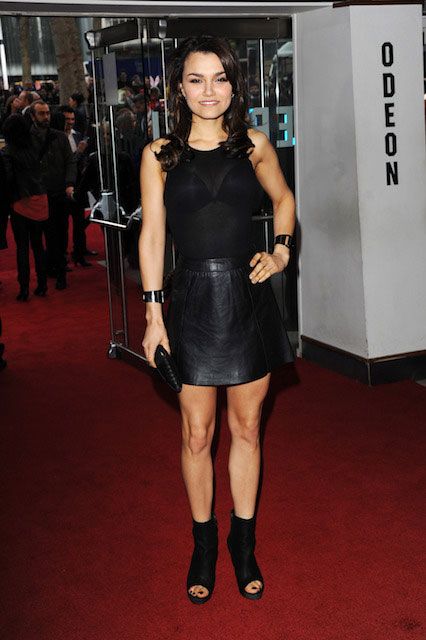 Samantha Barks measurements