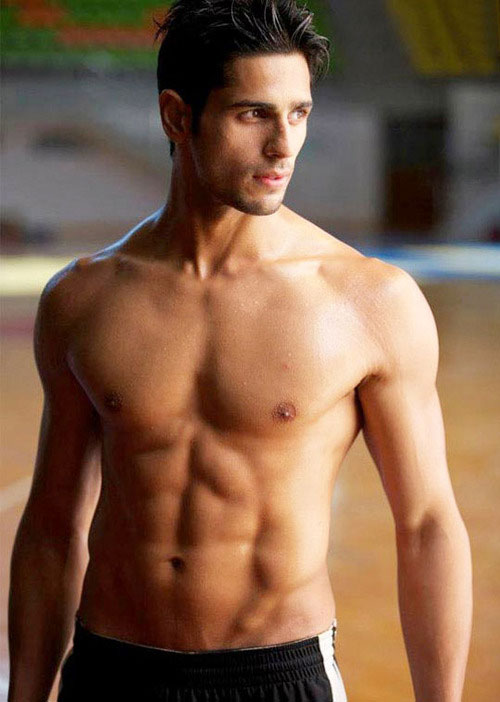 Sidharth Malhotra workout
