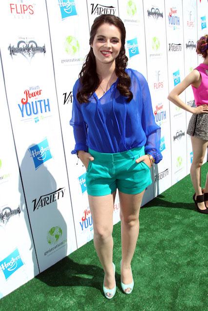 Vanessa Marano in short shorts