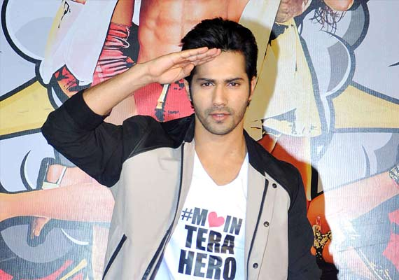Varun Dhawan at Main Tera Hero