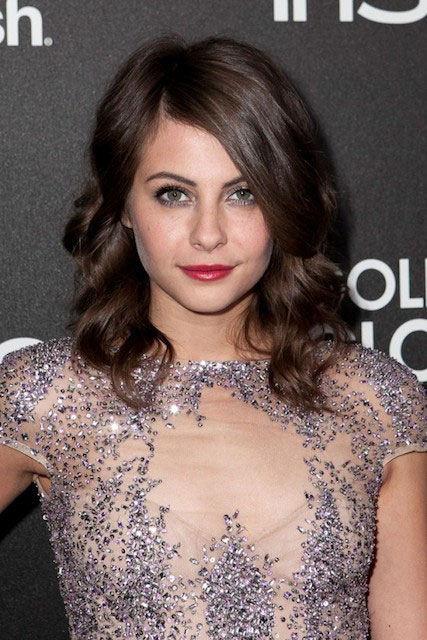 Willa Holland during HFPA 2014 Golden Globe Awards