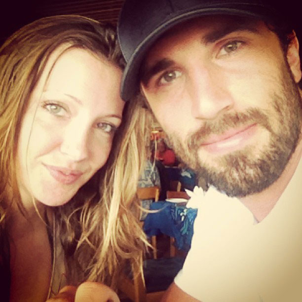 Katie Cassidy and Jason Garrison