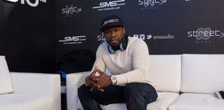 50 Cent during CES 2014