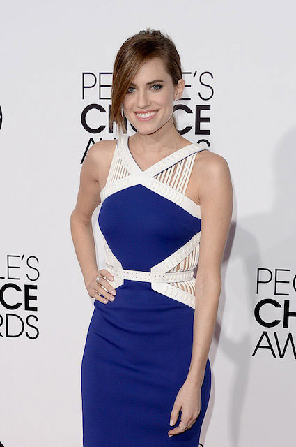 Allison Williams during People's Choice Awards 2014