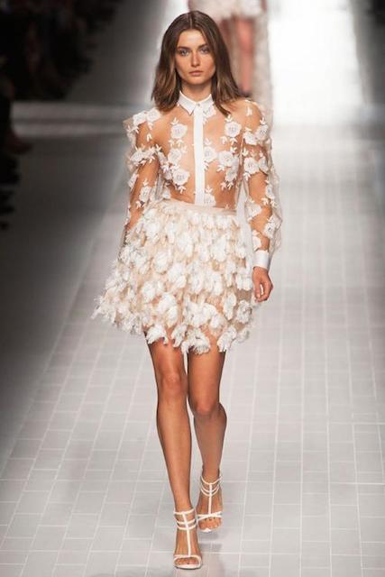 Andreea Diaconu for Blumarine Spring 2014