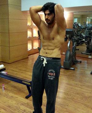 Arjun Kapoor Diet for Gunday