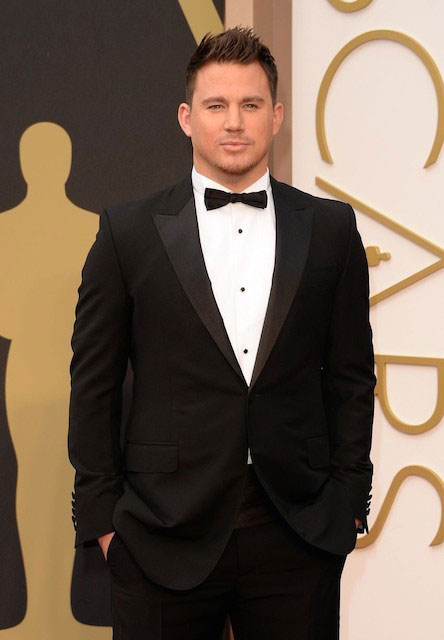 Channing Tatum in Oscars 2014