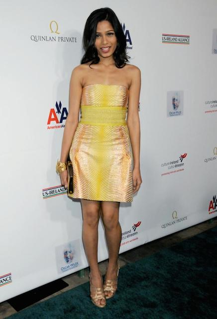 Freida Pinto weight
