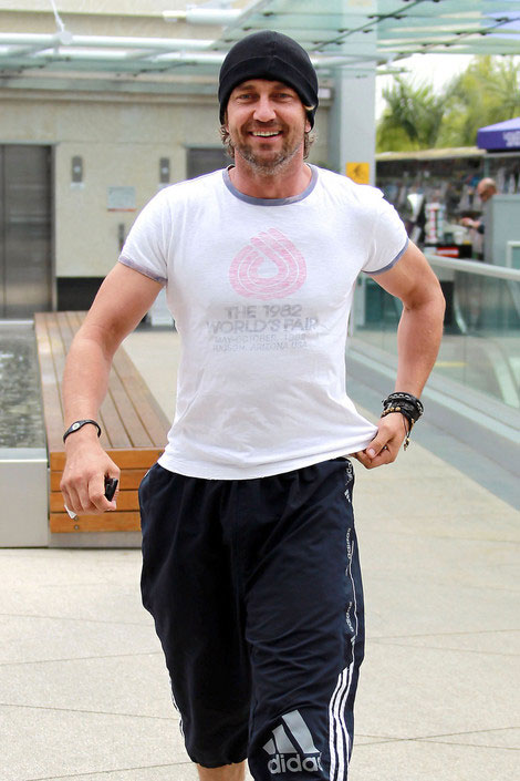 Gerard Butler workout routine
